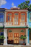 Nathalie Laoue - Artist - Singapore - Shophouse - Blair Road
